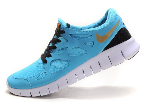 Nike Free Run 2 Mens Blue Wholesale