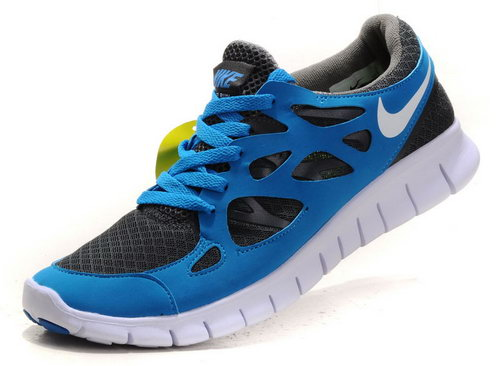 Nike Free Run 2 Mens Dark Gray Sky Blue Switzerland