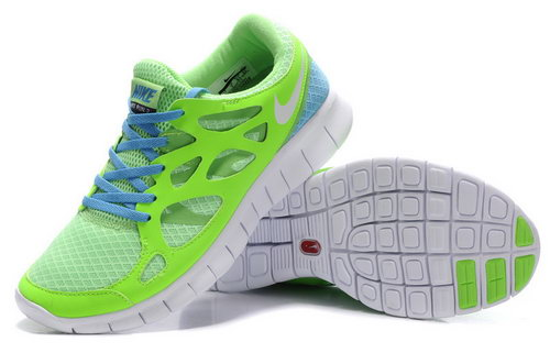 Nike Free Run 2 Mens Green Sale