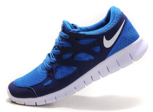 Nike Free Run 2 Mens Sapphire Blue White Item For Sale
