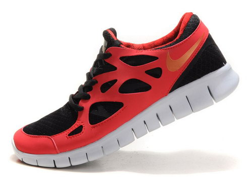 Nike Free Run 2 Mens The Scarlet Gold Outlet Store