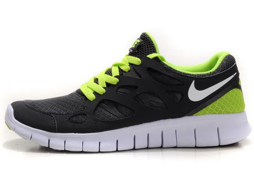 Nike Free Run 2 Womens & Mens (unisex) Dark Gray Green Korea