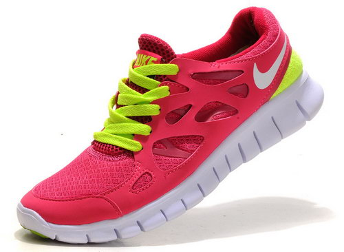 Nike Free Run 2 Womens Size Us5 6 7.5 Pink White Ireland