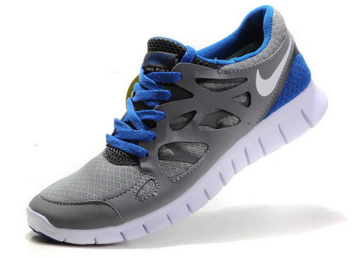 Nike Free Run 2 Womens Size Us9 9.5 10 Blue And Gray Online