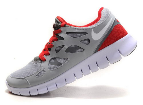Nike Free Run 2 Womens Size Us9 9.5 10 Gray Red Online Shop