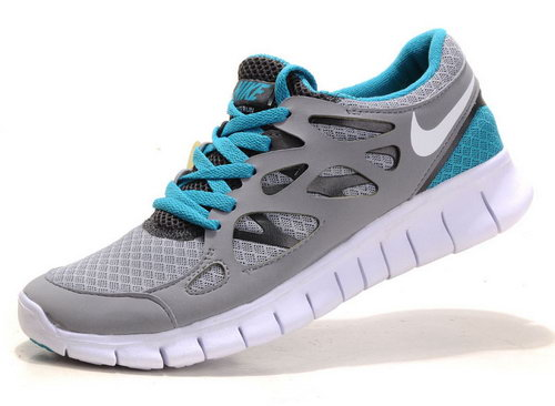 Nike Free Run 2 Womens Size Us9 9.5 10 Light Gray Jade Spain