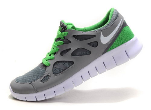 Nike Free Run 2 Womens Size Us9 9.5 10 Gray Green Norway