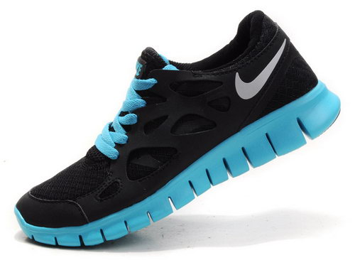 Nike Free Run 2 Womens Black Blue Denmark