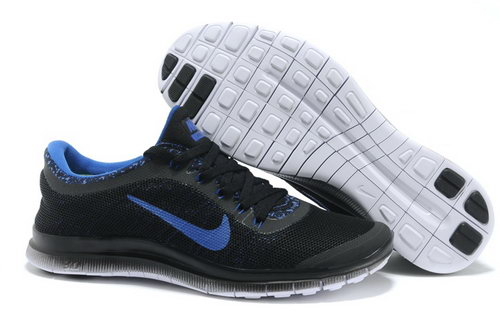 Nike Free Run 3.0 V6 Mens Shoes Black Blue Spain