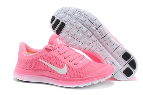 Nike Free Run 3.0 V6 Womens Shoes Baby Pink Uk