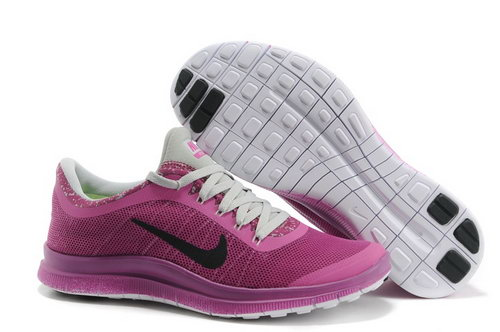 Nike Free Run 3.0 V6 Womens Shoes Rose Carmine For Sale
