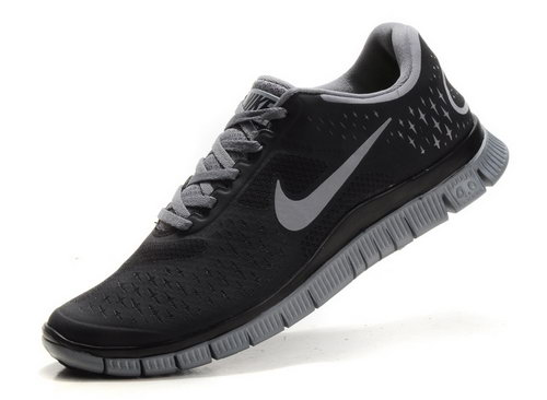 Nike Free Run 4.0 Mens Black Carbon Soot Denmark