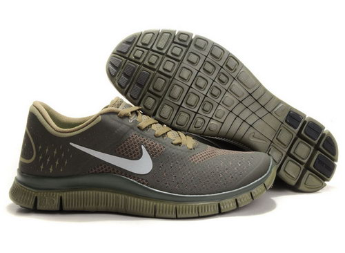 Nike Free Run 4.0 Mens Coffee