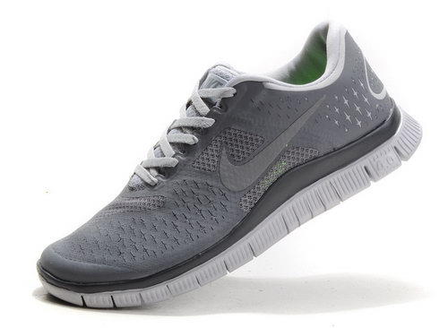 Nike Free Run 4.0 Mens Dark Gray Factory Store