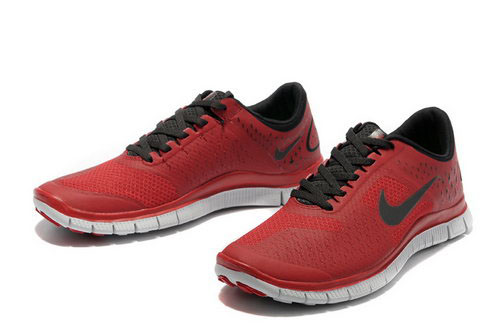 Nike Free Run 4.0 Mens Wine Red Black France