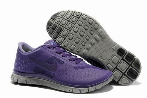 Nike Free Run 4.0 Mens Grayish Purple China