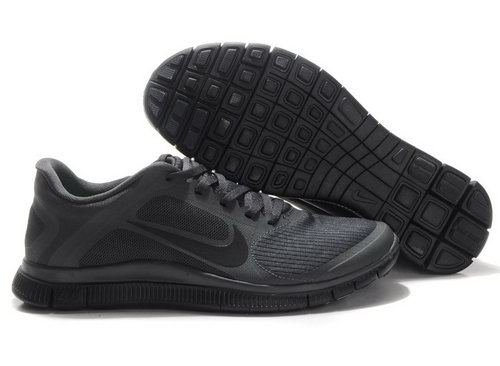 Nike Free Run 4.0 V3 Mens All Black Canada