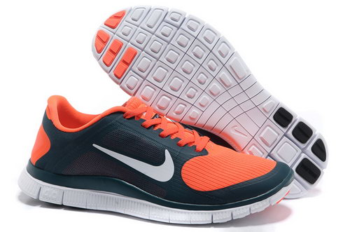 Nike Free Run 4.0 V3 Mens Dark Green Orange Switzerland