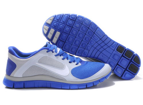 Nike Free Run 4.0 V3 Mens Size Us7.5 9 10.5 11.5 Blue Grey Promo Code