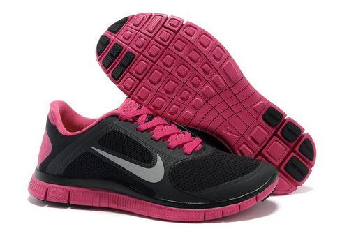 Nike Free Run 4.0 V3 Womens Black Pink Australia