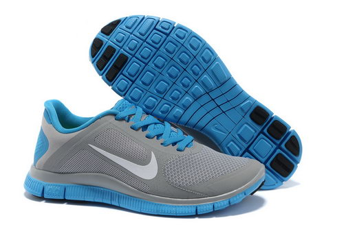 Nike Free Run 4.0 V3 Womens Gray Moon Korea
