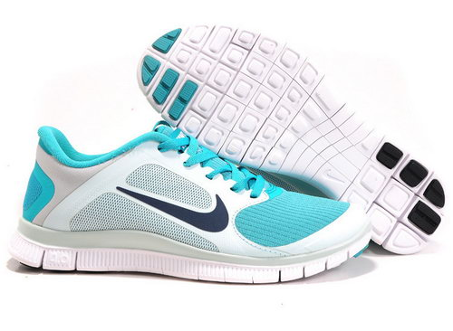 Nike Free Run 4.0 V3 Womens Green Mint Closeout