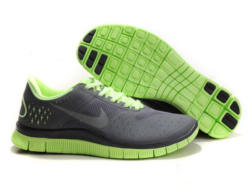 Nike Free Run 4.0 Womens & Mens (unisex) Grey Green Online Shop