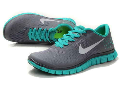 Nike Free Run 4.0 Womens & Mens (unisex) The Lake Blue Spain