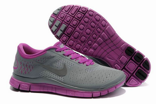 Nike Free Run 4.0 Womens Dark Gray Purple Germany