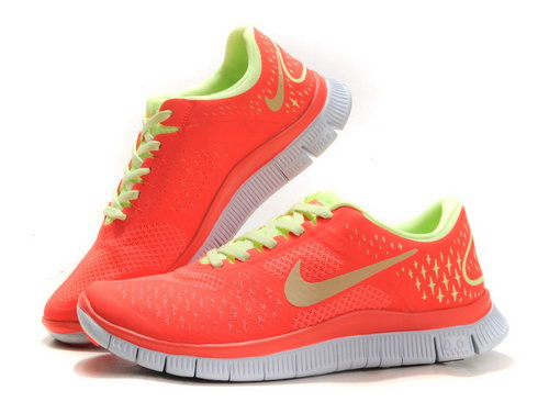 Nike Free Run 4.0 Womens Size Us5 6 7.5 Watermelon Red Factory