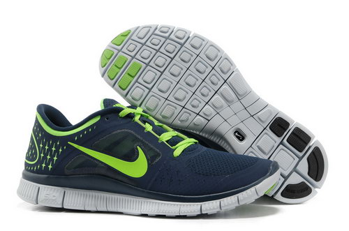 Nike Free Run 5.0 Mens Dark Blue Green Outlet Online