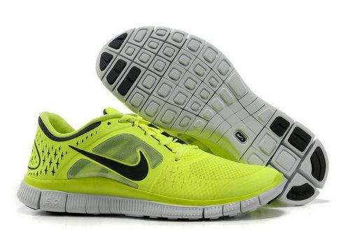 Nike Free Run 5.0 Mens Electric Yellow Black Ireland