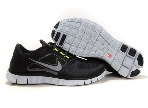 Nike Free Run 5.0 Mens Black Green Best Price