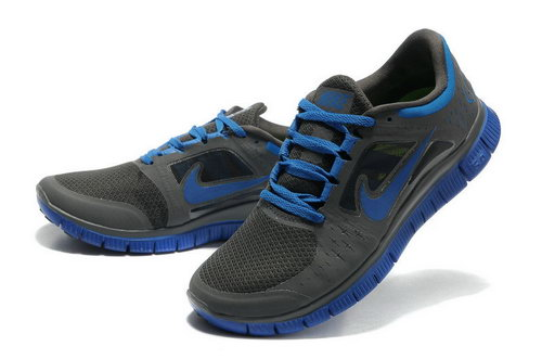 Nike Free Run 5.0 Mens Carbon Soot Blue Factory Store