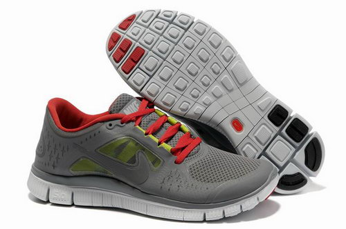 Nike Free Run 5.0 Mens Gray Red Greece