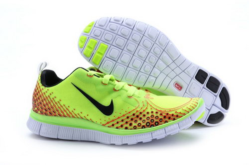 Nike Free Run 5.0 V4 Mens Shoes Bling Green Black