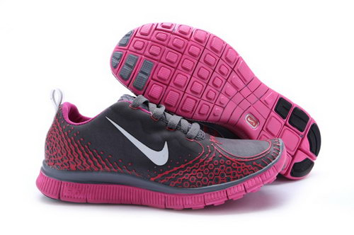 Nike Free Run 5.0 V4 Womens Shoes Silver Rose Hong Kong