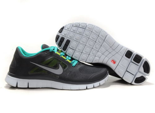Nike Free Run 5.0 Womens & Mens (unisex) Coal Black Green Review