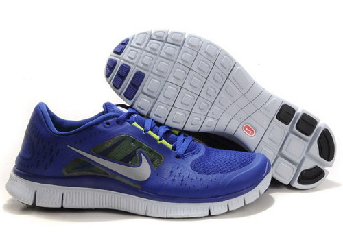 Nike Free Run 5.0 Womens & Mens (unisex) Deep Blue Factory Outlet