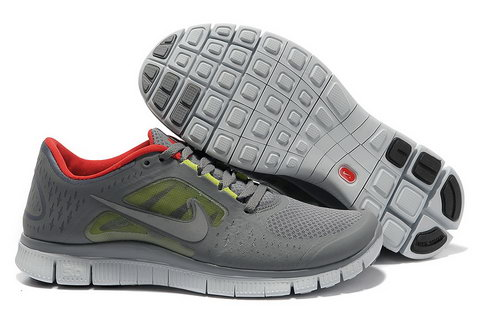 Nike Free Run 5.0 Womens & Mens (unisex) Lime Red Low Price