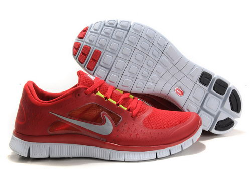 Nike Free Run 5.0 Womens & Mens (unisex) Red 2 Italy