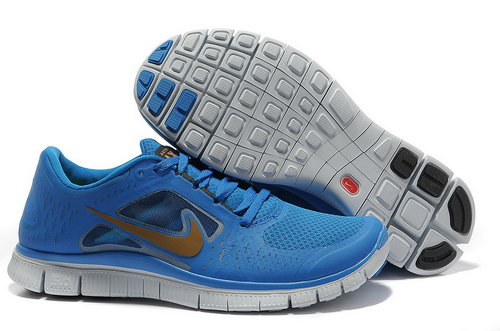 Nike Free Run 5.0 Womens & Mens (unisex) Sapphire Blue Coupon