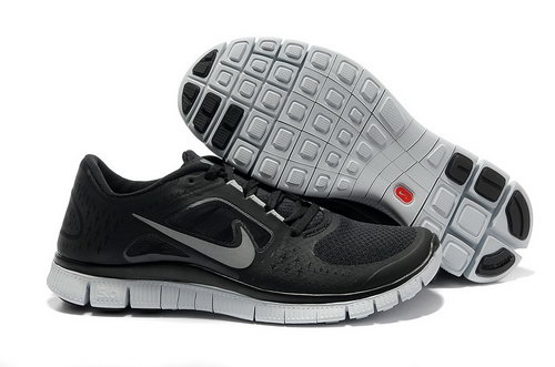 Nike Free Run 5.0 Womens & Mens (unisex) Lack And Silver Factory