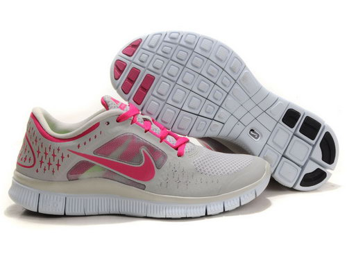 Nike Free Run 5.0 Womens Light Gray Pink Switzerland
