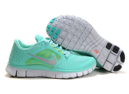 Nike Free Run 5.0 Womens Mint Green For Sale