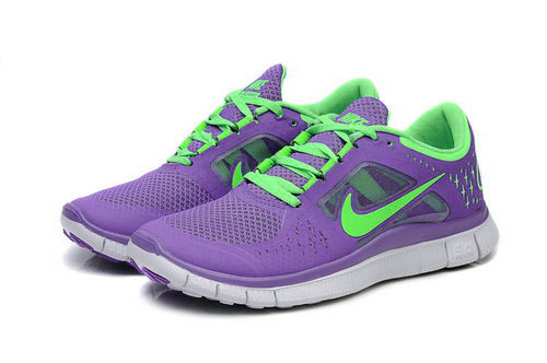 Nike Free Run 5.0 Womens Purple Green Outlet Store