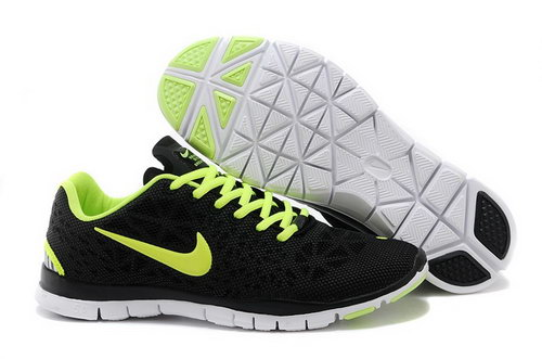 Nike Free Tr Fit 3 Breathe Mens Shoes Black Green Special On Sale