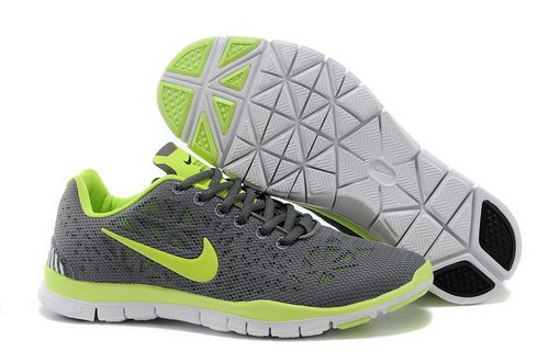 Nike Free Tr Fit 3 Breathe Mens Shoes Gray Green Hot Hong Kong