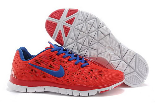 Nike Free Tr Fit 3 Breathe Mens Shoes Red Blue White New France