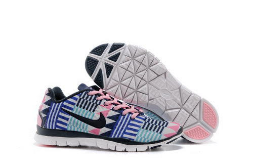 Nike Free Tr Fit 3 Prt Womens Shoes Black Baby Pink New Zealand